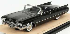 STAMP-MODELS 1/43 CADILLAC   SERIES 62 CONVERTIBLE OPEN 1960   BLACK