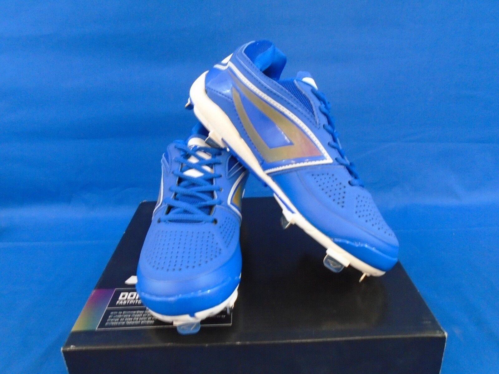 Women s 3n2 Preformance DOM-N-8 Royal bluee Fast Pitch Metal Cleats Size 5 661bb6f8329