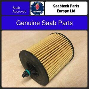 Genuine-Saab-93-9-3-B207-gasolina-2003-2012-Filtro-de-aceite-12605566