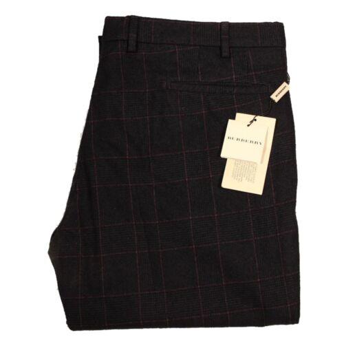 Uomo Burberry Men Jeans 29425 London Trousers Pantalone Viola Lana Xrq05nfq