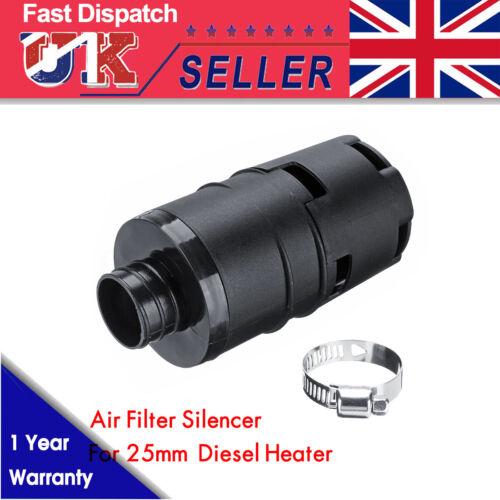 25mm Car Air Intake Filter Silencer For Eberspacher Webasto Diesel Heater UK