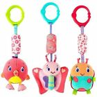 Design Bright Starts Pretty in Pink Chime Along Friends Teether Ring 0m Owl