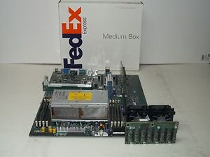 HP-Proliant-DL385-G2-Server-motherboard-w-CPUs-4GB-RAM-PCIe-Riser-SAS-Backplane