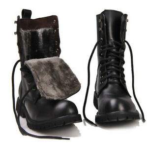 Retro Combat Boots - Cr Boot