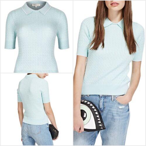 Donna Nuovo di Zecca M/&S Pigiama Taglia 8 a 10 Manica Corta Top /& Lungo Pantaloni.