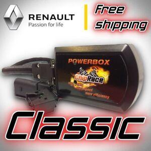 Chip de Potencia CR1 para SCENIC III 1.5 DCI 106 110 CV Tuning Box Module Diesel