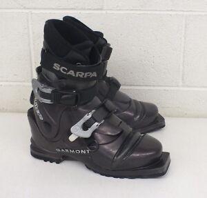 Garmont Libero 3-Pin Nordic Norm Telemark Ski Boots w/Scarpa Liners Women's 6.5