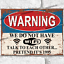 thumbnail 19 - Funny Metal Signs Retro Wall Plaque House Garage Shed Cave Joke Novelty Tin Sign