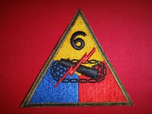 World-War-II-Patch-US-6th-ARMORED-Division