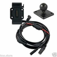 Garmin Zumo 660lm Gps Motorcycle Cradle Mount/hard-wire Power Cable 010-11270-03
