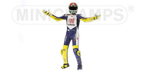 Figurine V.Rossi Moto GP 2008 Misano  312080146 1//12 Minichamps