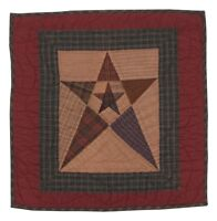 Primitive Star 18 Tea Dye Quilt Wall Hanging-table Mat