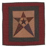 Primitive Star 18 Tea Dye Quilt Wall Hanging-table Mat