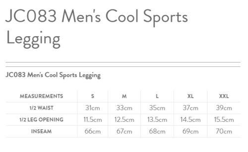 Men/'s black leggings for sports//mma//training AWDis Just Cool Sports Leggings