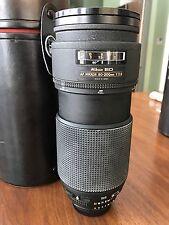 Nikon ED NIKKOR 80-200mm 1:2.8 AF Lens Made In Japan with Case