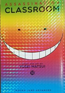 Assassination-Classroom-Vol-10-by-Yusei-Matsui-New-Paperback-Book