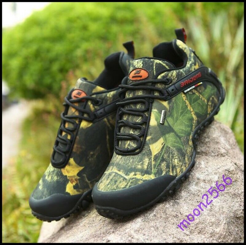 Homme New Outdoor Waterproof Combat Climbing Desert Chaussures Floral Sport Military