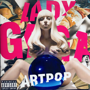 Lady-Gaga-ARTPOP-Gatefold-STREAMLINE-RECORD-New-Sealed-Black-Vinyl-2-LP