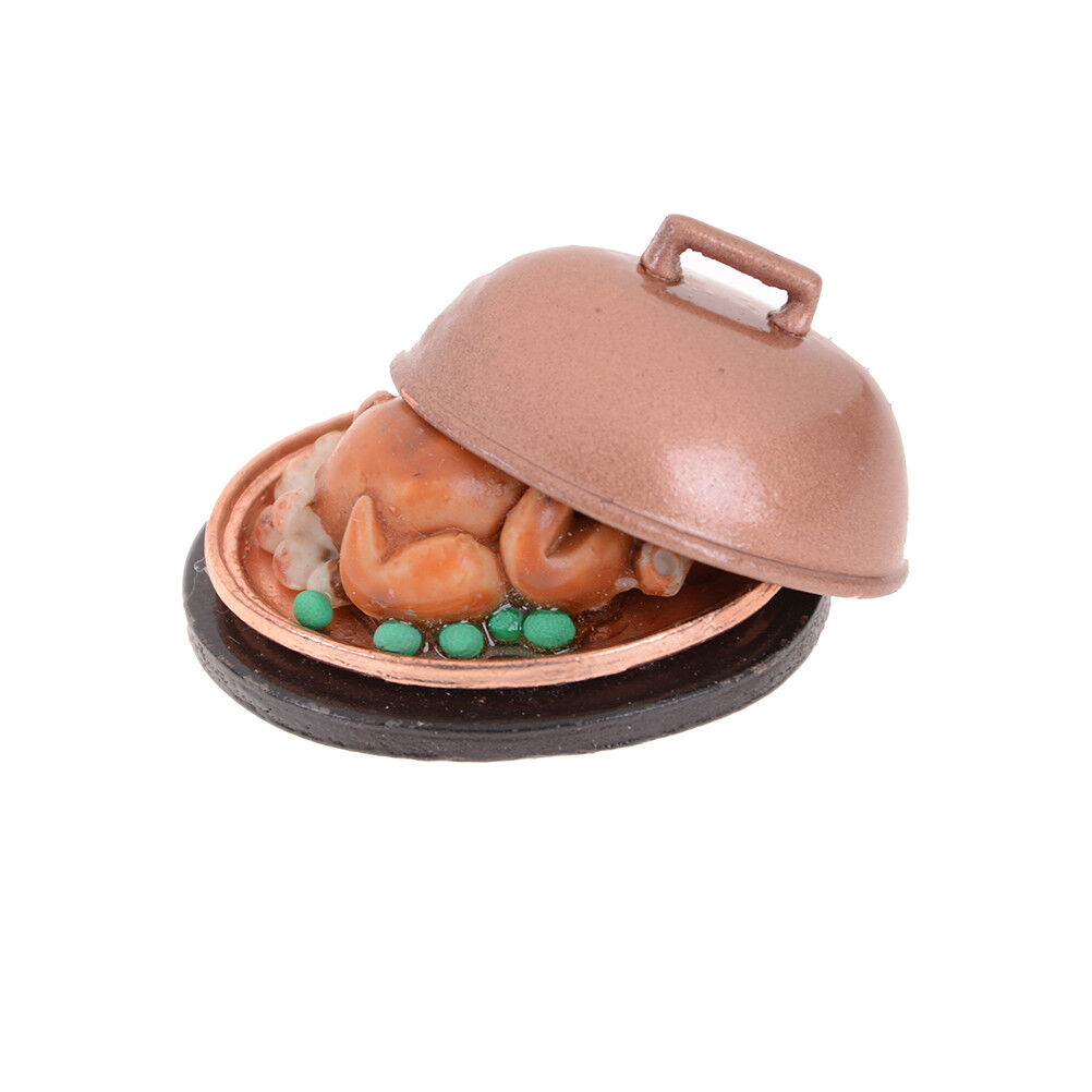 1:12 Dollhouse Miniature Simulation Food Mini Lollipop With Case Holder IJ