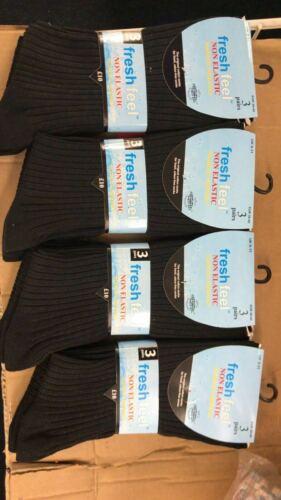 Men Socks Soft Top Easy Grip Non Elastic Rich Cotton Diabetic Socks UK Size 6-11