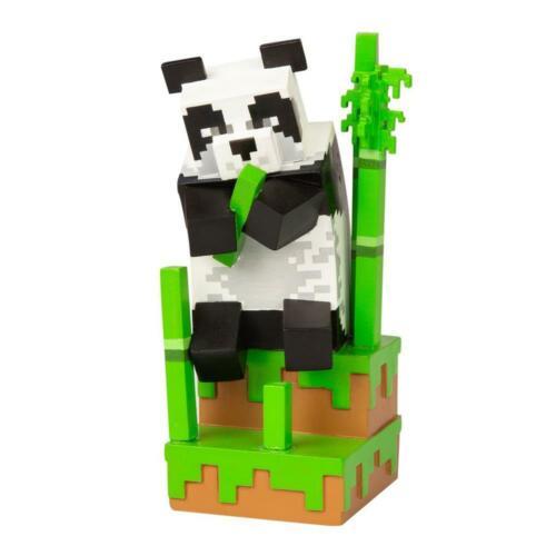 Minecraft PANDA SERIE 4 Adventure figura nuovo GIOCHI ONLINE DA COLLEZIONE