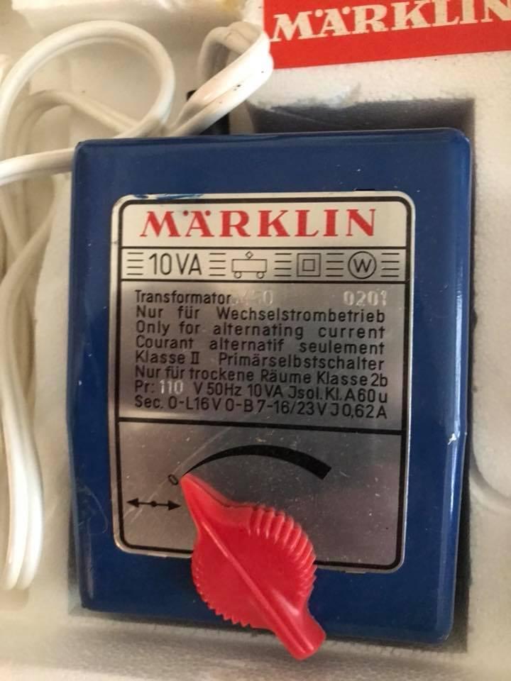 VINTAGE MARKLIN  HO TRAIN SET    2902 963c5c
