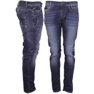 Russo Tapered Fit Indaco Jeans 3149 Garcia 612 Blu Pantaloni Uomo q0aIt