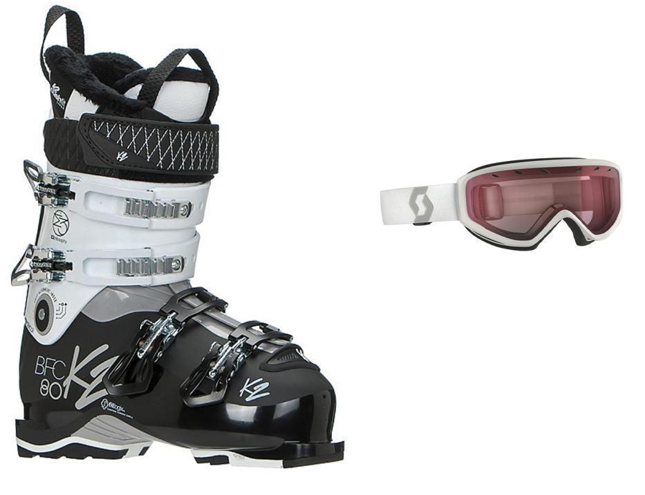 K2 BFC 80W ski Stiefel, Größe Größe Stiefel, 26.5 (w- MATCHING goggles at BuyItNow price) NEW 2018 9da1cb