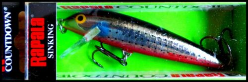 VERY RARE RAPALA COUNTDOWN CD 9 cm SPECIAL SINR color