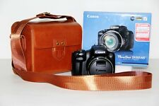 Brown leather case bag for Sony Alpha A5100 or NEX7 with 16-50 + 55-210mm 2 lens