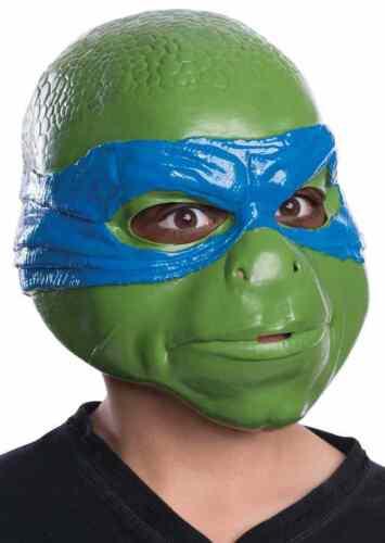 Leonardo Mask TMNT New Movie Ninja Turtles Halloween Child Costume Accessory