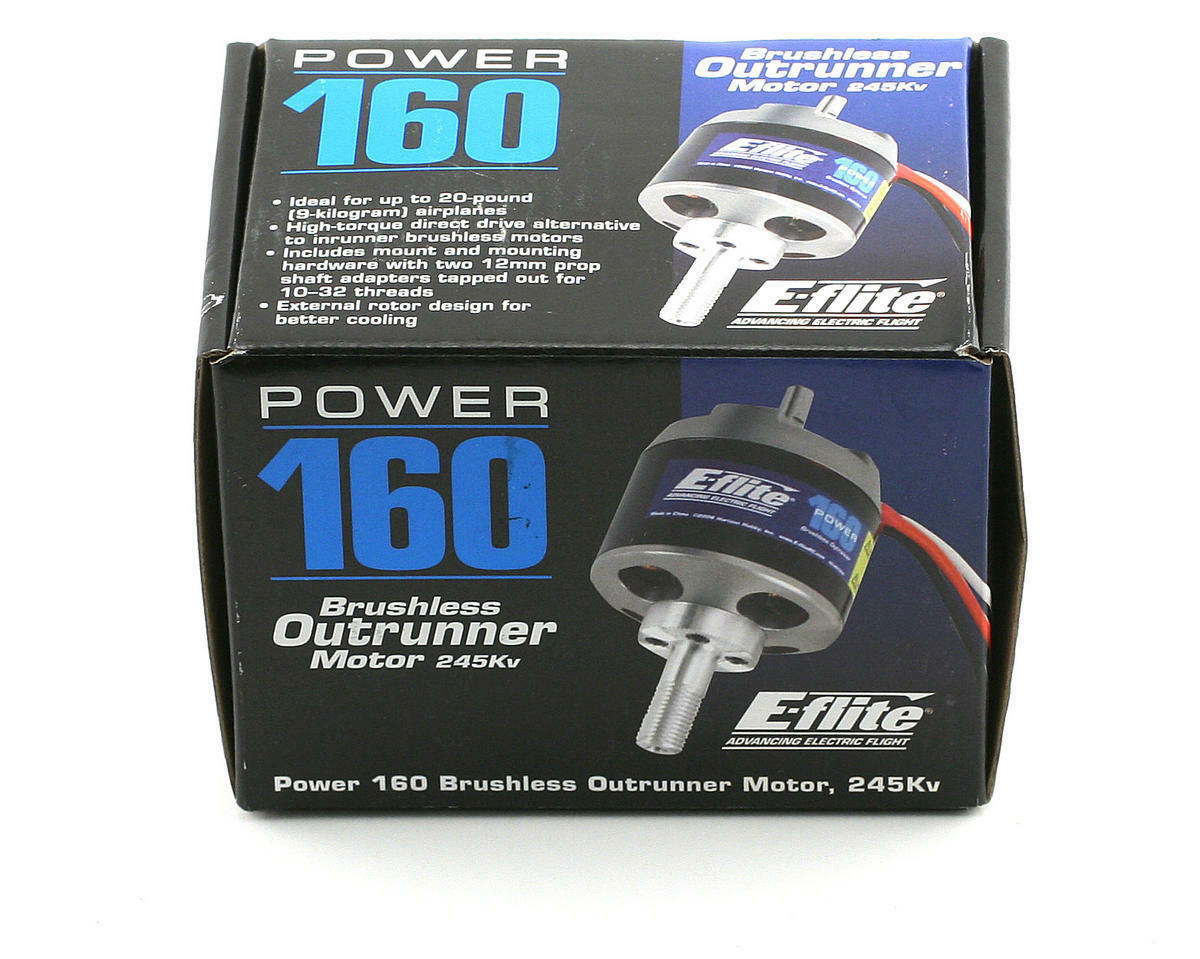 Eflite e-flite macht 160 brstenlose outrunner rc - flugzeug - 245kv eflm4160a