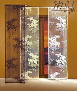 Single Net Sheer Window Panel Blind Curtain Fly Screen Multple Sizes Slot top