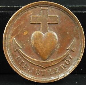 Medalla-Propaganda-monarquico-en-favor-Enrique-Dieudonne-V-d-039-Artois-Rey-medal