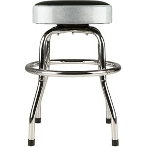 Fender-Barstool-Silver-Sparkle-30in-Swiveling-Bar-Stool-w-Padded-Seat-Top