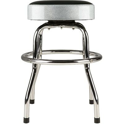 Prime Fender Barstool Silver Sparkle 30In Swiveling Bar Stool W Padded Seat Top 885978913237 Ebay Alphanode Cool Chair Designs And Ideas Alphanodeonline