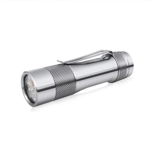 Lumintop FW3A Ti Titan 2800 lumens 18650 Taschenlampe Anduril Firmware Triple