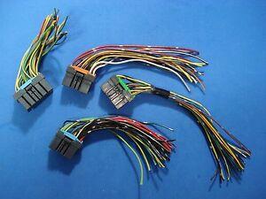 2000 2004 mitsubishi montero sport ecu wiring harness connector plug rh ebay com