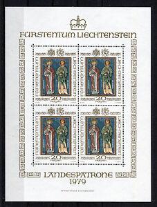 Liechtenstein-KB-734-postfrisch-kompletter-Kleinbogen-Michel-100-00-Euro-MNH
