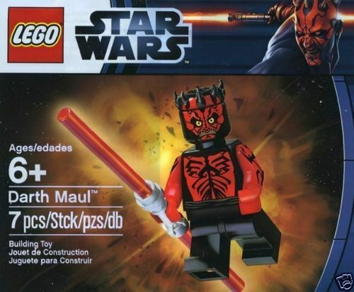 Minifig LEGO Darth Darth Darth Maul Polybag 5000062 STAR WARS EPISODE 1 311be9