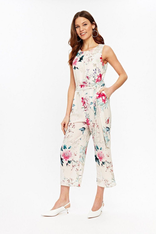 Wallis bluesh Floral Print Jumpsuit 12