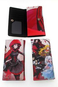 Men-039-s-Button-Wallet-RWBY-Long-Wallet-Card-Coin-Bag-Wallet-Handbags-Otaku-Gift