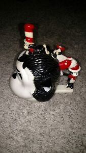 380f18fe Vintage Dr Seuss Cat in The Hat Stein/Mug/Cup Plastic Black/White | eBay