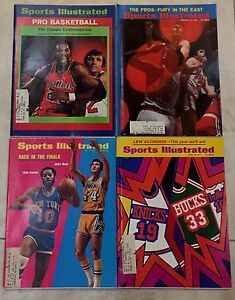 New York Knicks 1970 S Era Basketball Covers Sports Illustrated Ebay