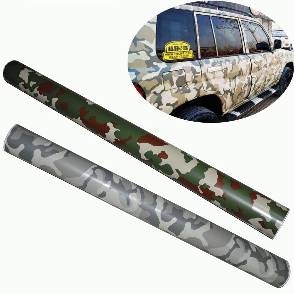 Jungle Desert Camouflage Car Sticker Vinyl Wrap Sheet Body