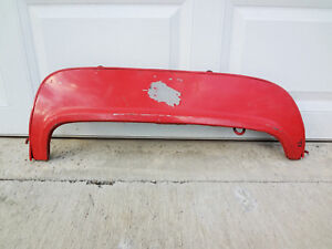1955-1956-FORD-Accessory-SINGLE-LH-FENDER-SKIRT-55-56-Skirts-Left-NICE-Crown-Vic