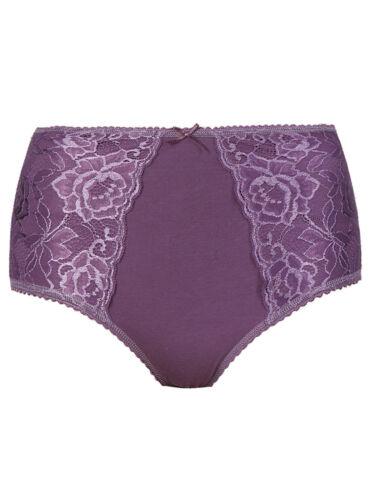 Brand New Ex M/&S Firm Control Full Briefs Purple Size 8