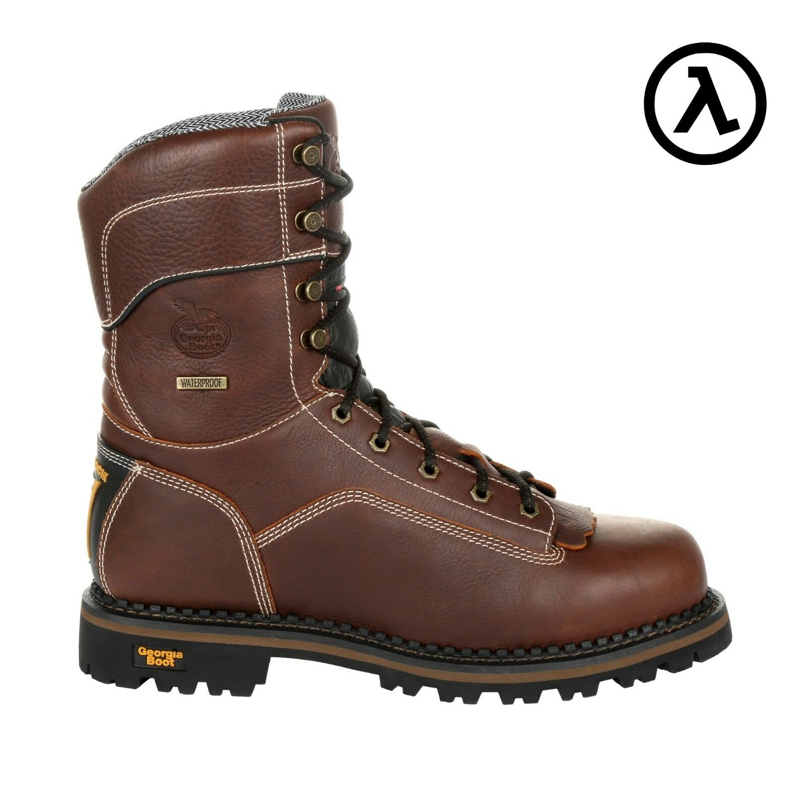 GEORGIA AMP LT LOGGER WATERPROOF 400G INSULATED WORK BOOTS GB00260  ALL SIZES