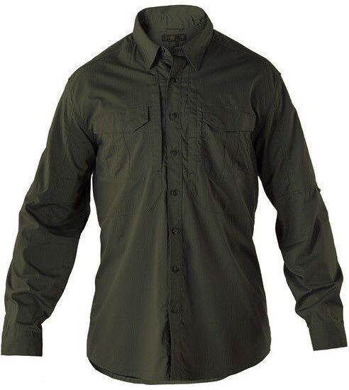 89cf0441bfd60d 5.11 ® Hemd Tactical - STRYKE SHIRT - green Langarm - wcwent1105-Clothing