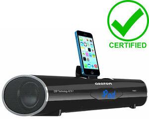 azatom ipunch 2 bluetooth docking station speaker for iphone 6 6s 5s 5c 4s ipod ebay. Black Bedroom Furniture Sets. Home Design Ideas